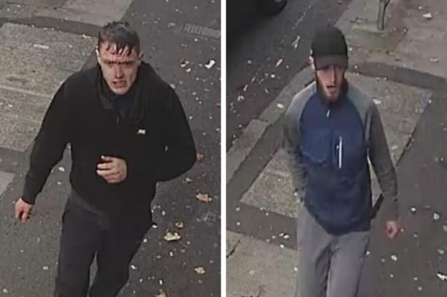 Have you seen these men? Cops launch search in connection with serious assault