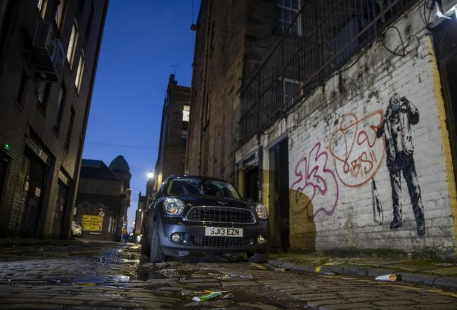 In pictures: 'Masked Halloween' is newest addition to Glasgow's street art