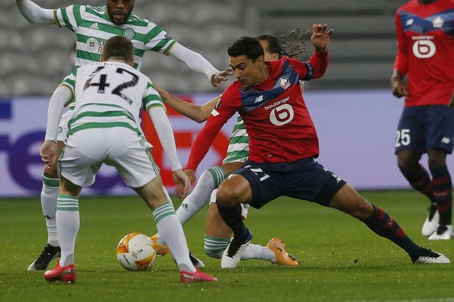 Celtic battled to a creditable draw in France against Lille.