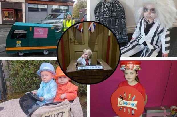 In pictures: Glasgow kids dress up for Hallowe'en 2020
