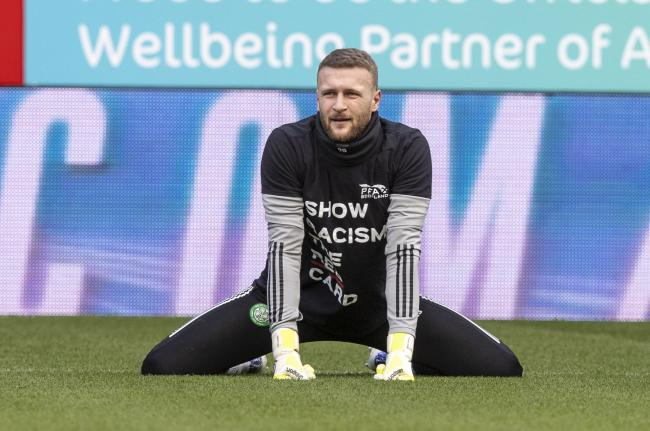 Celtic goalkeeper Scott Bain 'physically and mentally' in a better place after regaining starting spot for Visilis Barkas