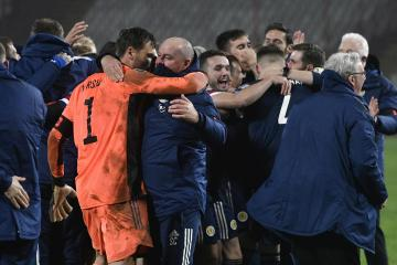 Steve Clarke: I'm probably going to go home and sleep for three days - Scotland achieved something big in Serbia