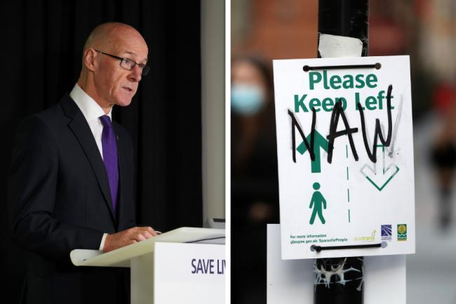 John Swinney confirms talks with Glasgow health chiefs over tough restrictions