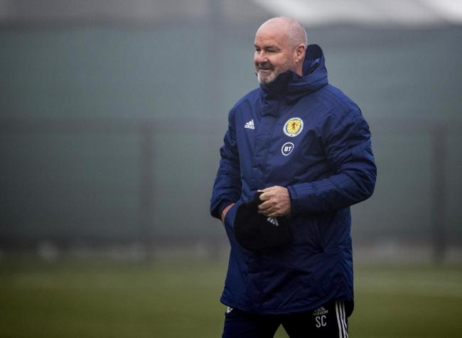 Scotland manager Steve Clarke. Photo by Craig Williamson/SNS Group.