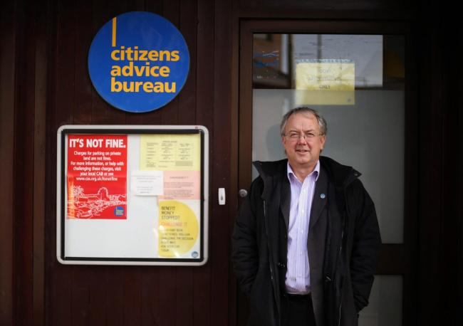 Frank Mosson, of Bridgeton Citizens Advice Scotland