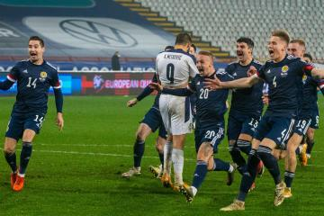 Si Ferry: Scotland's shoot-out win wasn't the highlight of the week - the scenes afterwards were