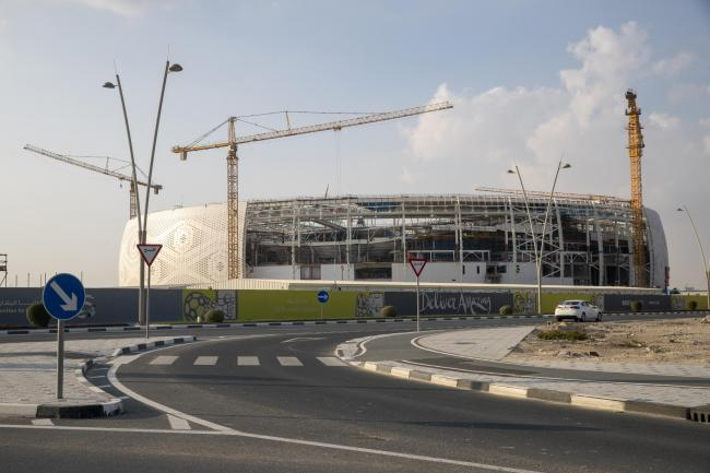 The Al Thumama Stadium in Doha