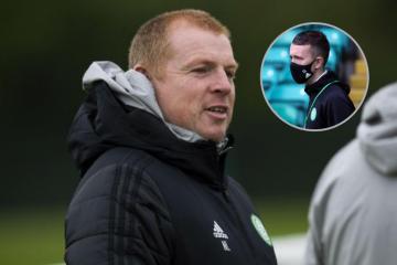Neil Lennon blasts 'shambles' of international football as Turnbull latest Celtic star to test positive for Covid-19