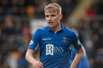 St Johnstone 1-1 Motherwell: Ali McCann on the influence of Rangers' Steven Davis