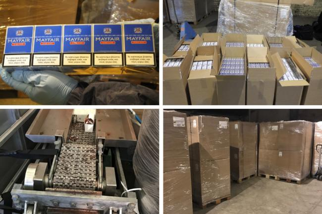 Three arrested after four million illegal cigarettes seized by taxman in Glasgow warehouse