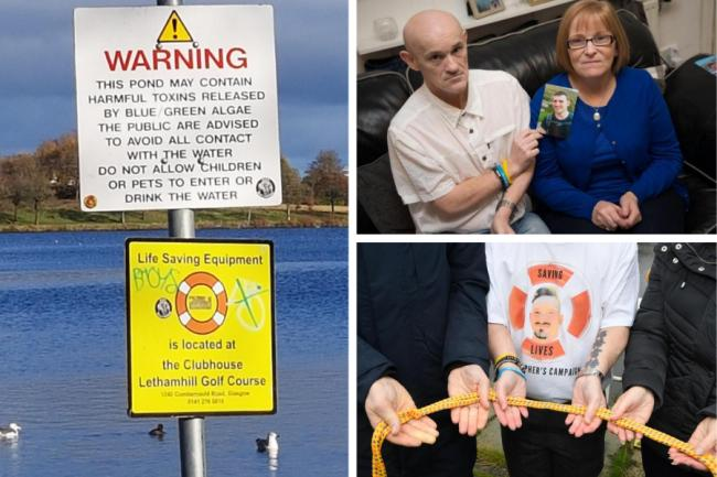 'We're scared another person might die': Bereaved parent's fears as lifesaving equipment locked away from loch