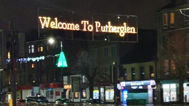 Broken letter sees town's Christmas lights read 'Welcome to Putherglen'