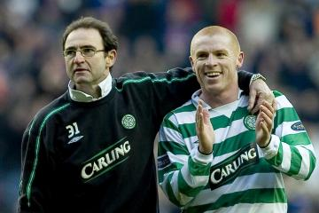 Celtic legend Martin O'Neill says forget about Rangers