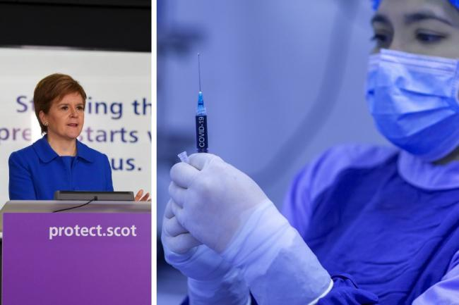 Nicola Sturgeon: Vaccine boost provides welcome lift for everyone