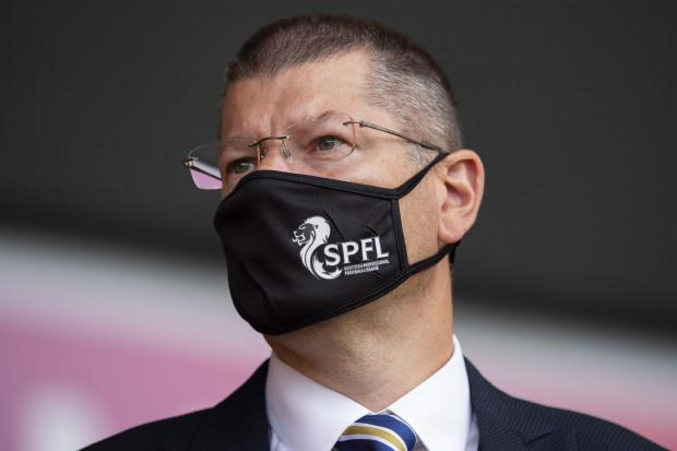 Neil Doncaster says Scottish clubs are 'ready, willing and able' to throw resources behind vaccine programme