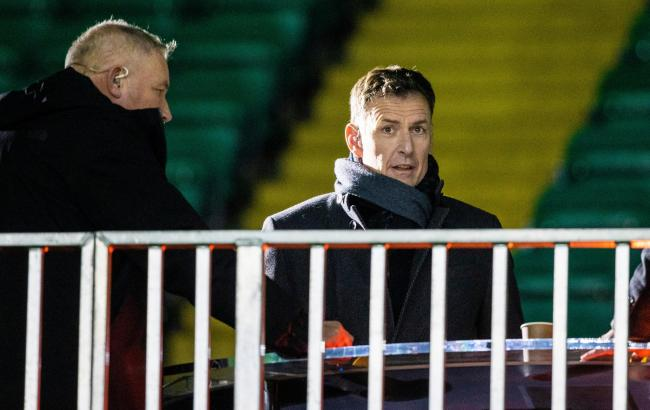Former Celtic striker Chris Sutton