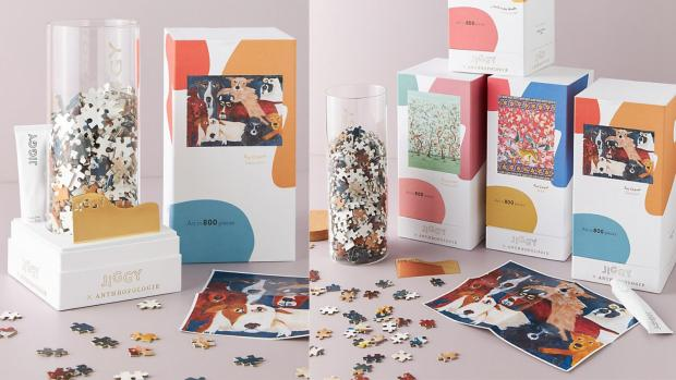 Glasgow Times: Best gifts for women: Jiggy for Anthropologie puzzle Credit: ANTHROPOLOGIE