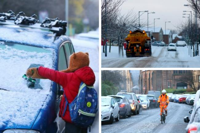 'The weans are falling all over the place': Glasgow is furious over lack of gritting
