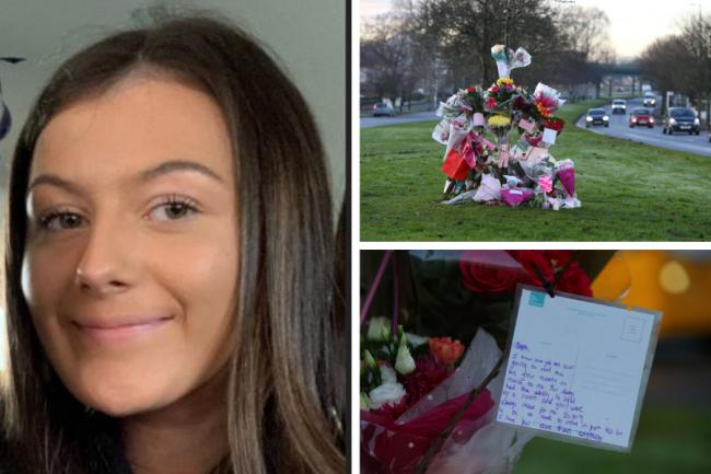 'I hope you realise how loved you are': Pupils pay heartbreaking tributes to schoolgirl who died after being hit by car
