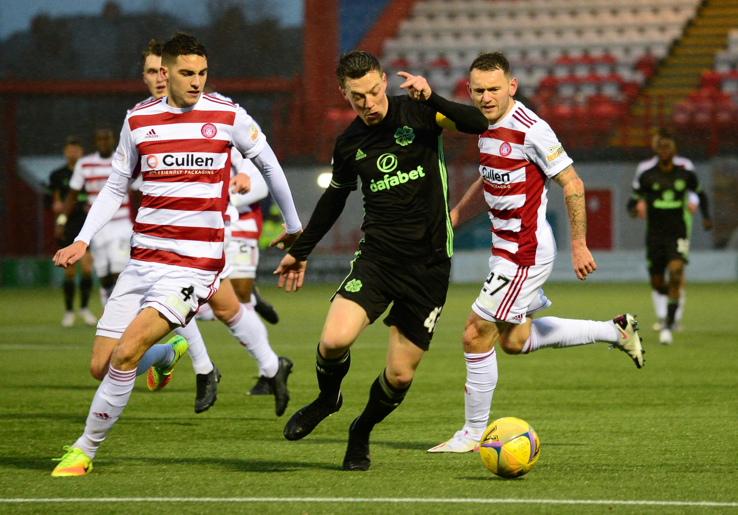 Lee Hodson urges Hamilton to use being written off to fire them up in Premiership survival battle