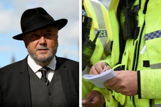 George Galloway was allowed to attend a match at Palmerston on Saturday despite current level four restrictions