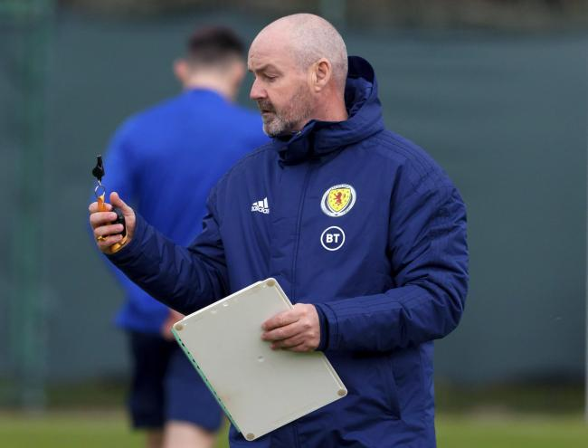 Steve Clarke knows he has a difficult task to select his 23-man squad for Euro 2020.