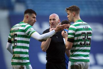 Celtic slam vile abuse aimed at Nir Bitton following Rangers red card