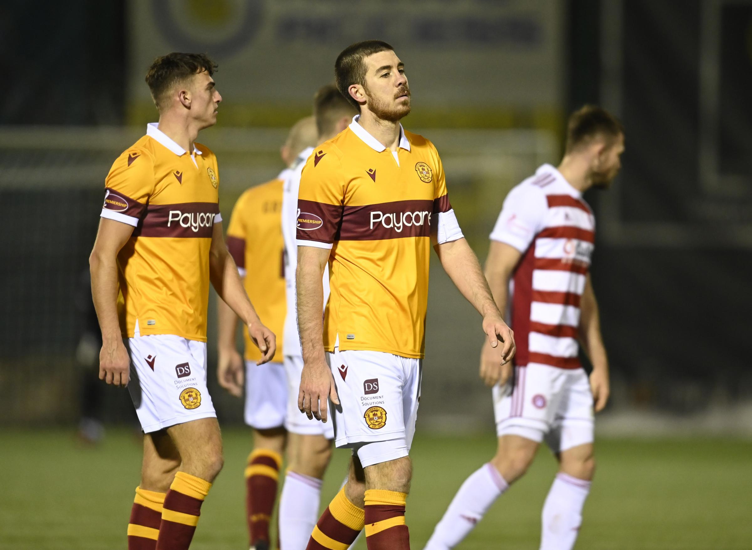 Hamilton 3-0 Motherwell: Declan Gallagher opens up on Stephen Robinson's departure