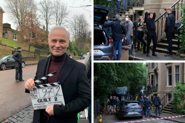 Film crews given green light to carry on shoots in Scotland - despite lockdown