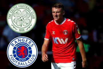 Celtic and Rangers both offer pre-contract terms to Charlton's Alfie Doughty as Stoke lodge bid to land him now