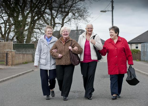 Glasgow Times: Community Connectors. Pic: NHS Scotland Photo Library