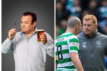 Barry from Eastenders pokes fun at Celtic for Dubai trip