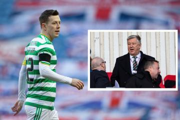 Celtic's Callum McGregor explains Peter Lawwell's 'hardest hit' comment