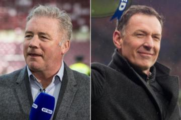 Rangers hero Ally McCoist hilariously slaps down null and void scenario as Celtic's Sutton trolls ex-Ibrox star