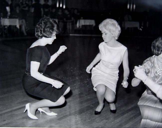 The Twist at the Dennistoun Palais, 1962. Pic: Herald & Times