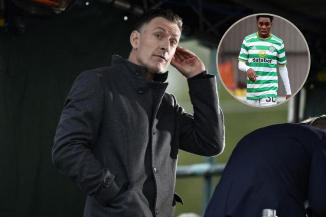 Chris Sutton takes aim at Celtic's Jeremie Frimpong as he closes in on £11m Bayer Leverkusen transfer