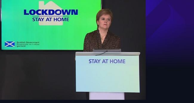 Coronavirus: Nicola Sturgeon said statement tomorrow will be 'slow' lifting of lockdown