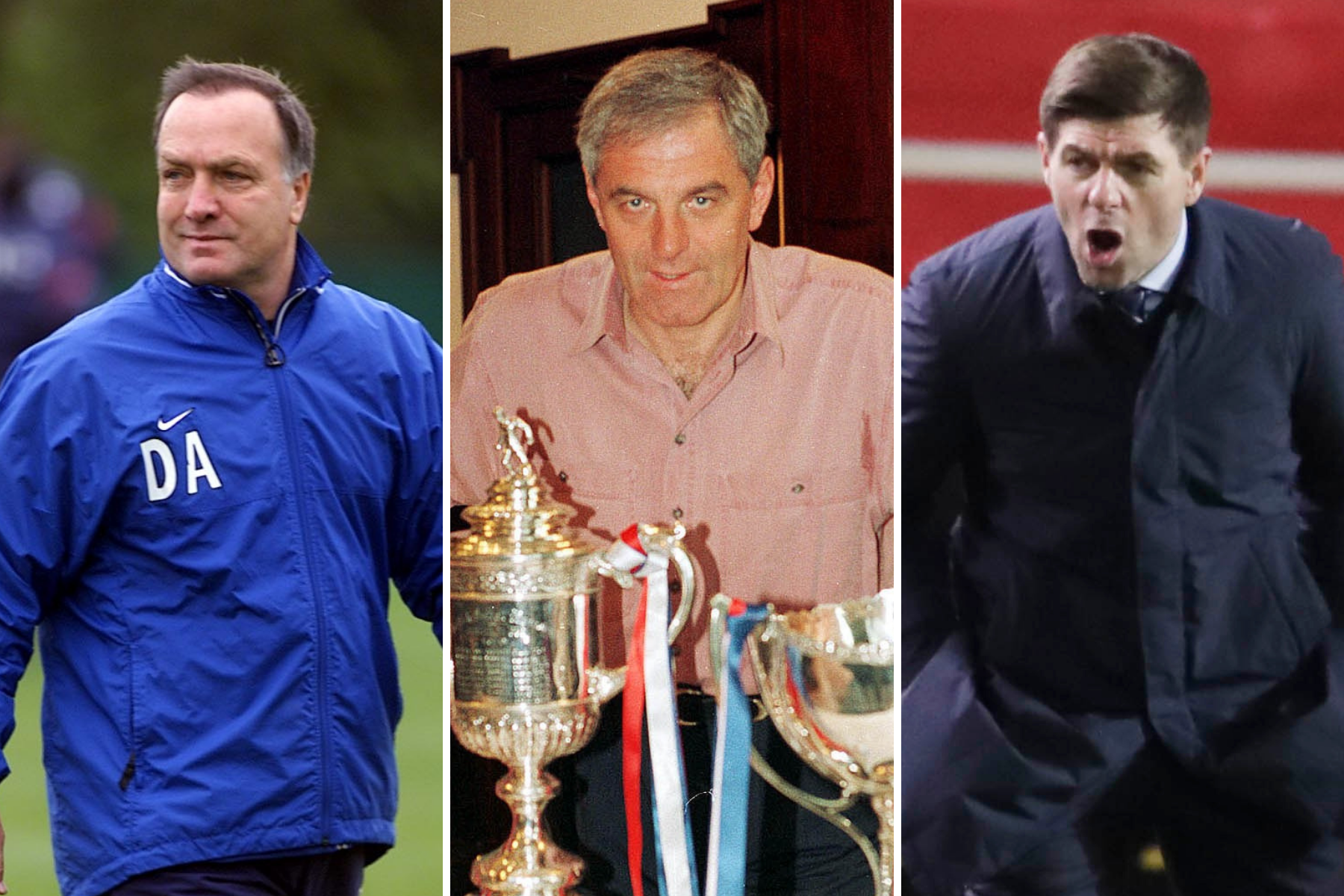 Why Rangers boss Steven Gerrard doesn't think he deserves to be mentioned along with Dick Advocaat and Walter Smith