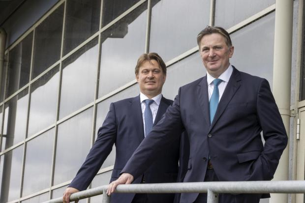 Glasgow Times: James and Sandy Easdale