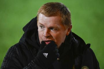 Watch: Neil Lennon walks away from BBC interview after repeated 'rebuild' questions following Ross County loss
