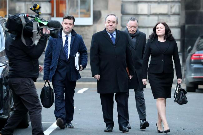 Alex Salmond Legal Action