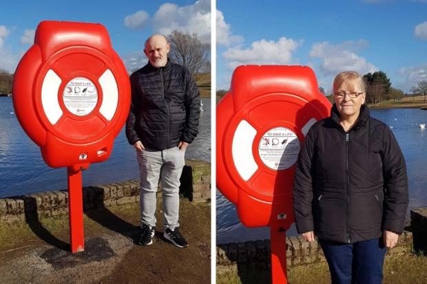 Lifesaving belts installed at Hogganfield Loch following grieving family campaign