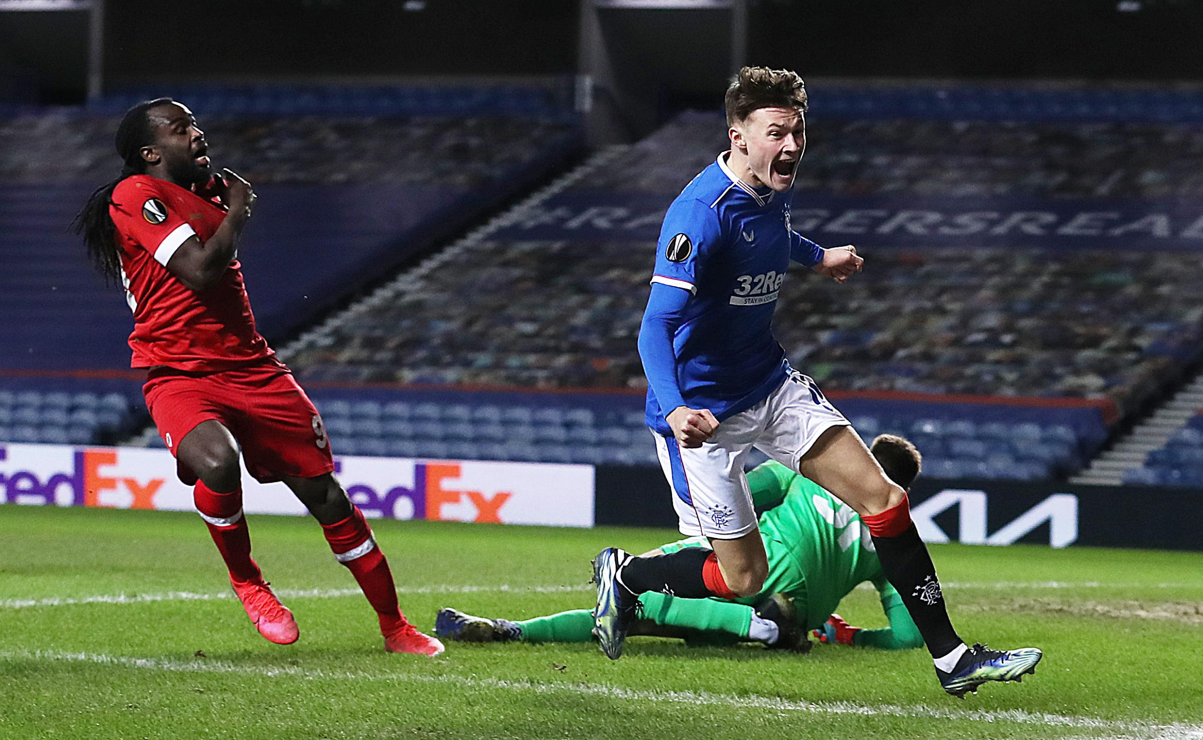 Rangers 5-2 Royal Antwerp: Nathan Patterson takes first step on road to redemption in frantic win