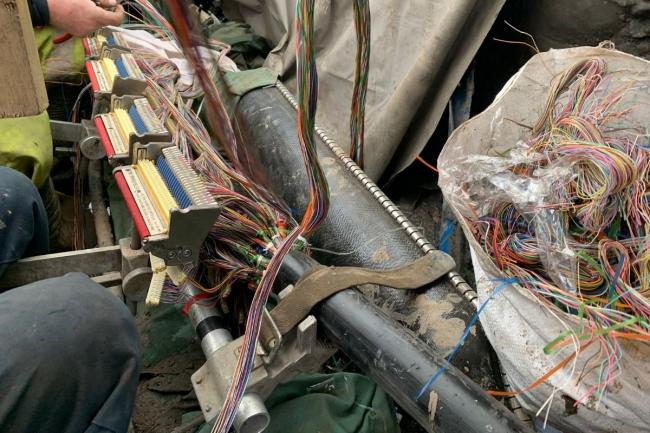 Experts are continuing to reconnect hundreds of cables in the East End