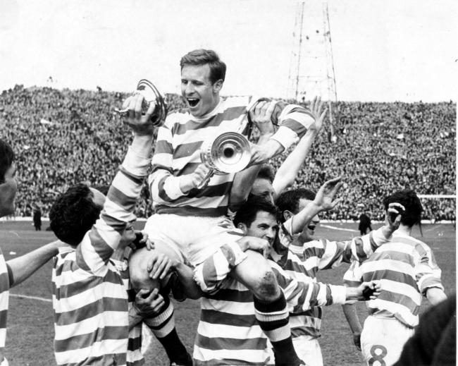 Celtic win the 1965 Scottish Cup Final