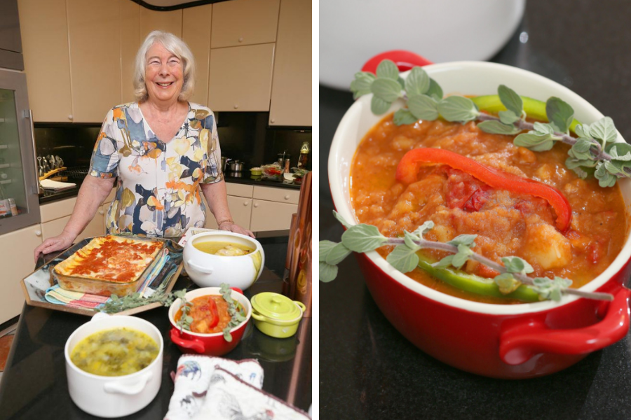 Cooking with Mrs Conetta: A surreal holiday moment, and a simple but delicious beef stew