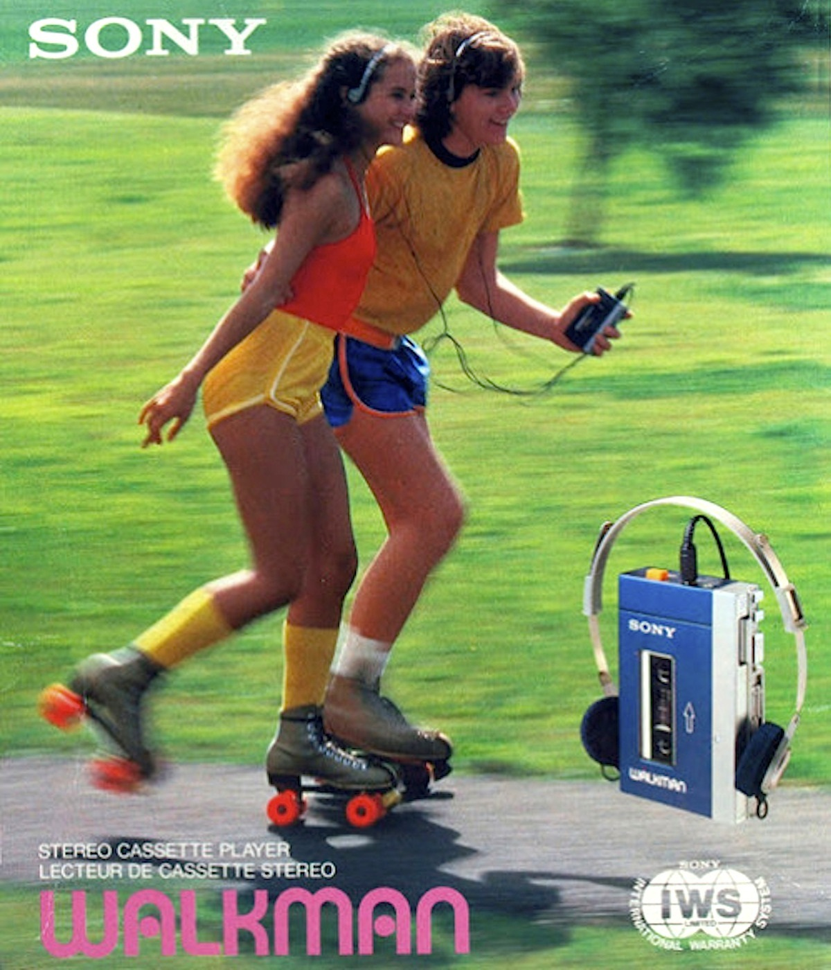 The Sony Walkman was big in the 80s