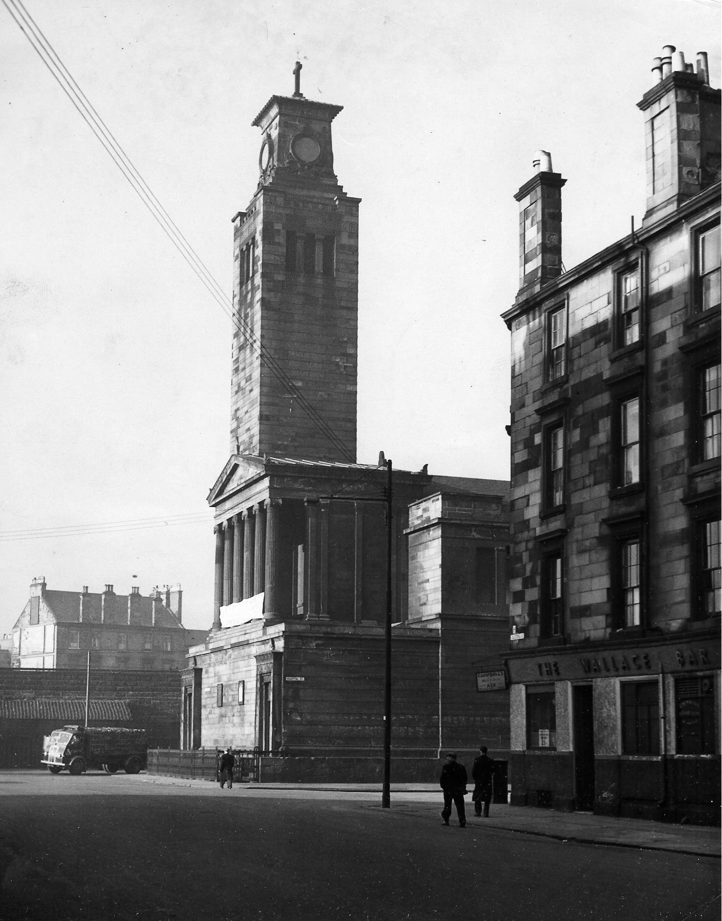 Thomsons Caledonia Road Church in the Gorbals in 1955. Pic: Herald and Times