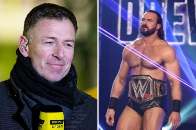 Rangers-daft WWE star Drew McIntyre adds to war of words with Celtic hero Sutton after Slavia Prague defeat