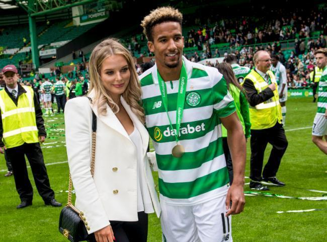 Former Celtic star Scott Sinclair and Coronation Street actress Helen Flanagan welcome a baby boy